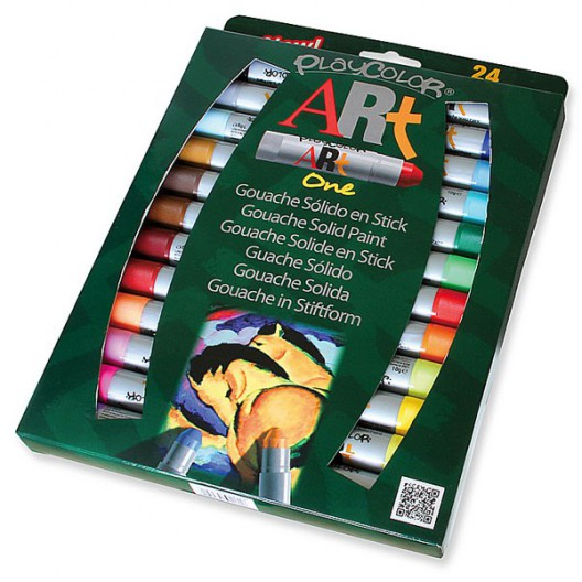 Caja surtido 24 PlayColor ART One 10g - Gouache sólido