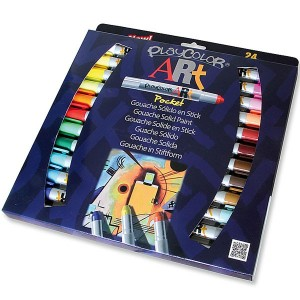 Caja surtido 24 PlayColor ART Pocket 5g - Gouache sólido