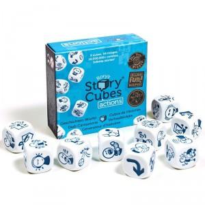 Rory's Story Cubes Acciones - juego de dados de crear historias