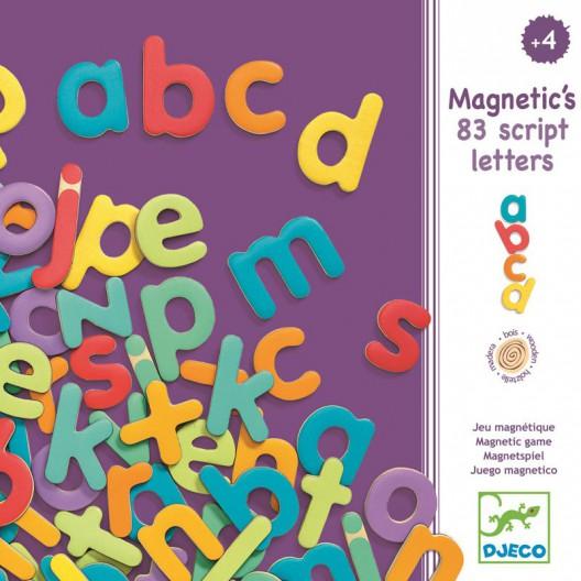 Letras magnéticas para escribir minúscula