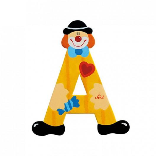 Clown Letter A