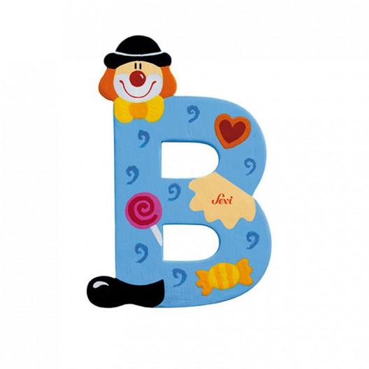 Clown Letter B Sevi Sev
