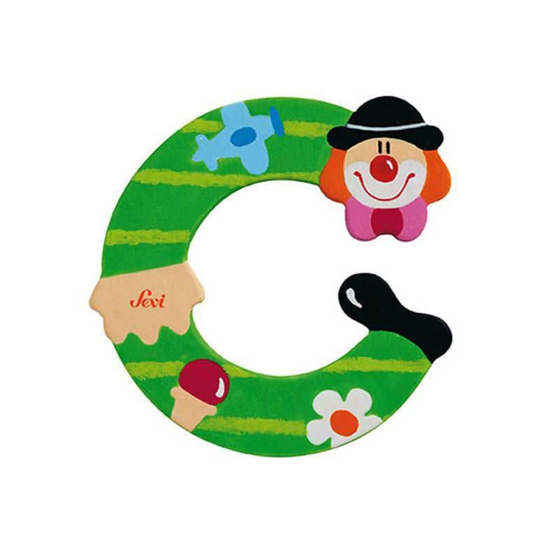 Clown Letter C Sevi Sev