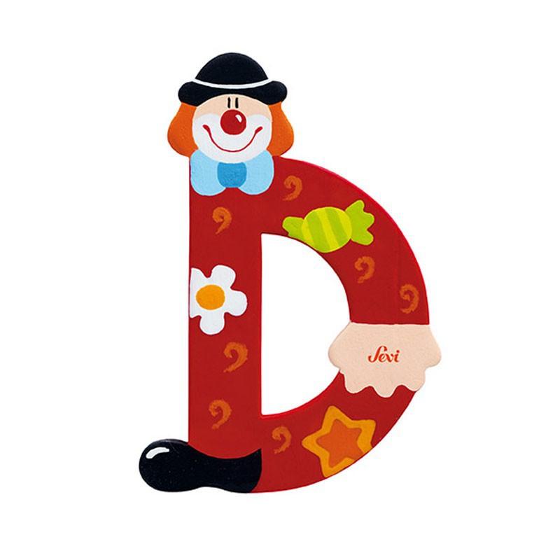 Clown Letter D Sevi Sev