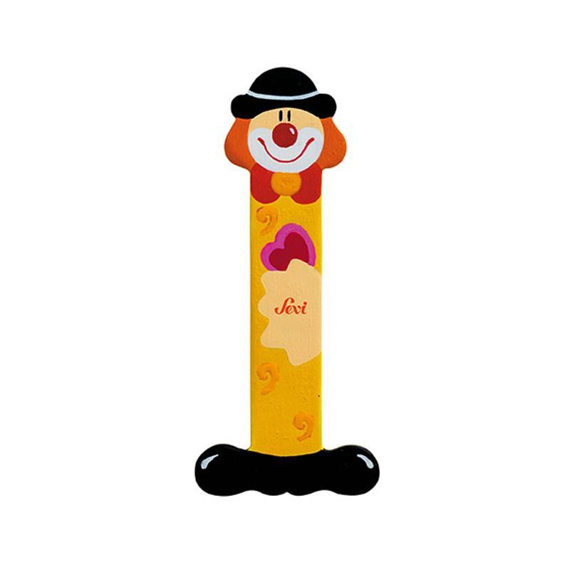 Clown Letter I Sevi Sev