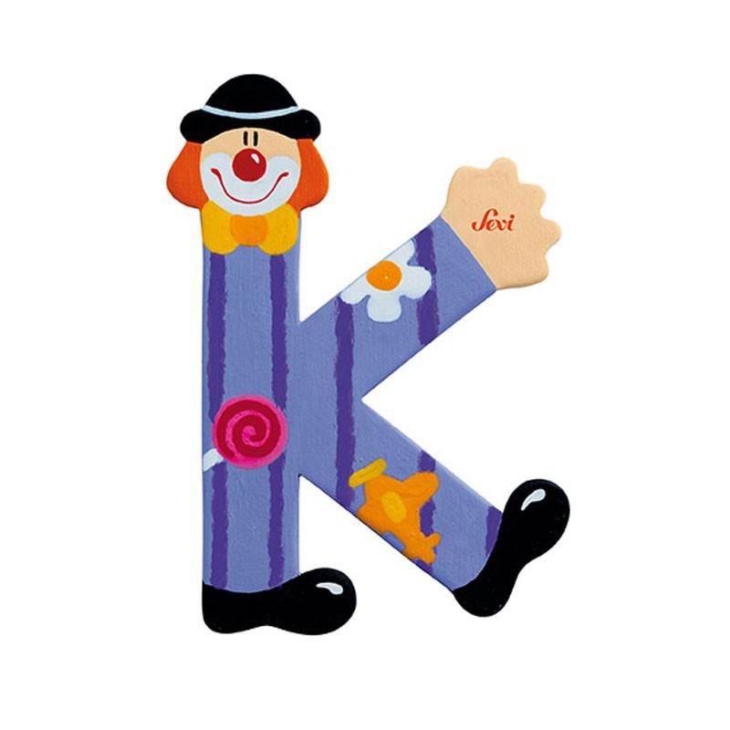 Clown Letter K Sevi Sev