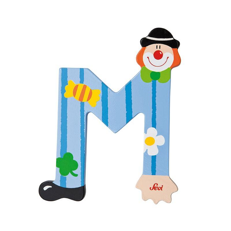 Clown Letter M Sevi Sev