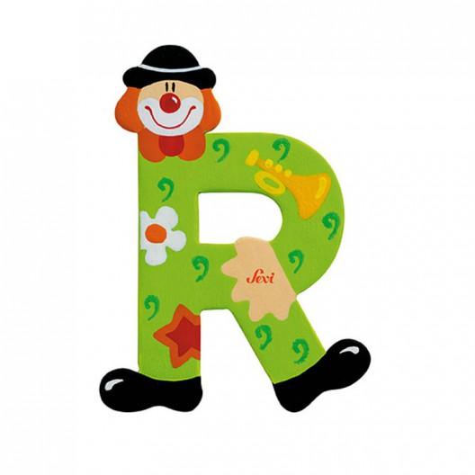 Clown Letter R Sevi Sev