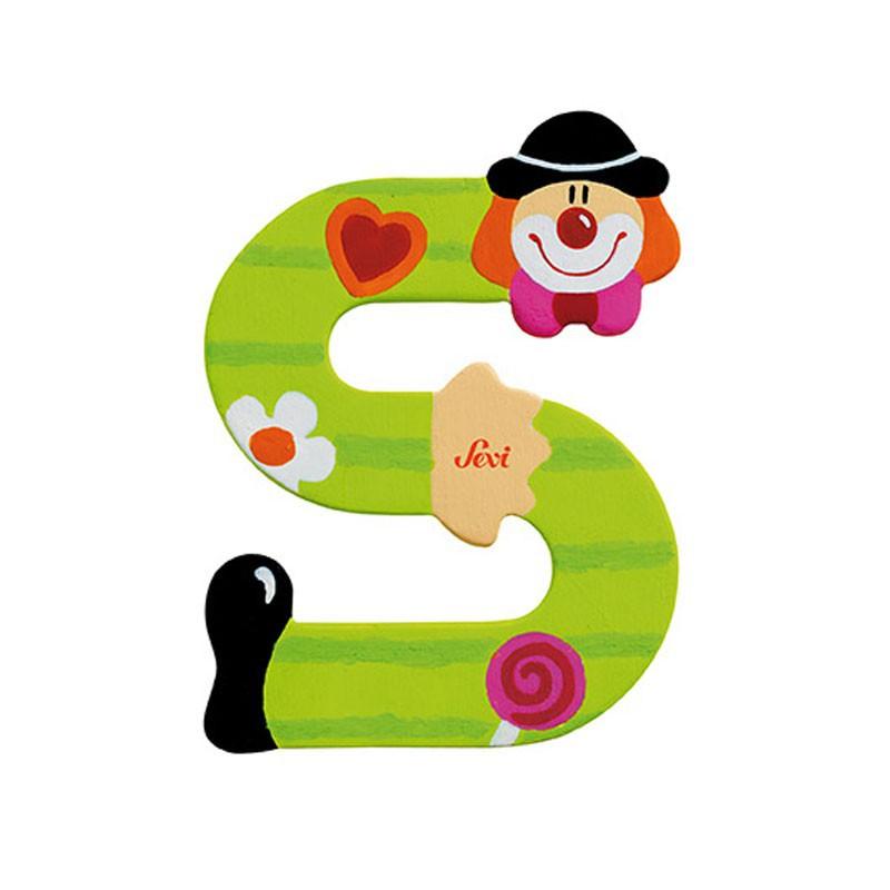 Clown Letter S Sevi Sev