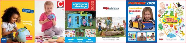 Catálogos digitales de material educativo