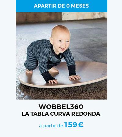 Wobbel360, la tabla curva para bebés