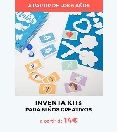 Los Inventa Kits de Kibo, para niños creativos