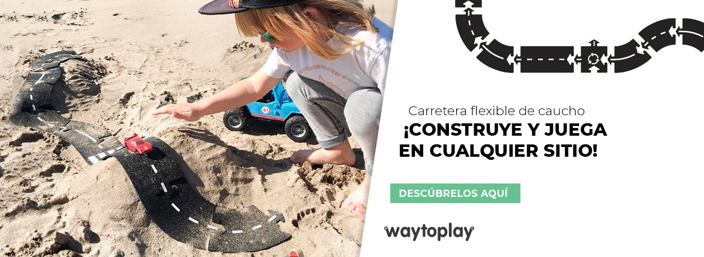 Carretera de caucho flexible Waytoplay en Kinuma
