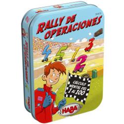 Rally de Operaciones- Juego de sumar y multiplicar para 2-5  jugadores