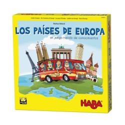 Els països d'Europa - joc de coneixements per a 2-4 jugadors