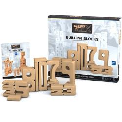 SumBlox Kit Familiar - 43 peces de fusta de faig + fitxa d'activitats