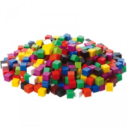 Cubs 1x1cm - 1000 unitats