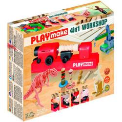 PLAYMAT taller 4 en 1 - herramienta eléctrica para trabajar con madera a partir de 5 años