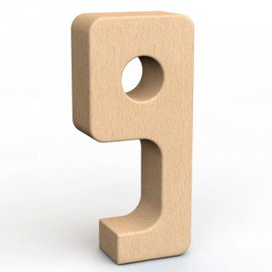 SumBlox Número 9 - peça individual