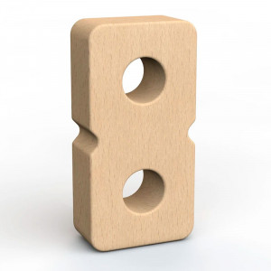 SumBlox Número 8 - pieza individual