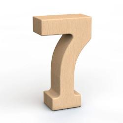 SumBlox Número 7 - peça individual