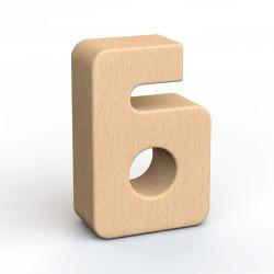 SumBlox Número 6 - pieza individual