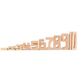 SumBlox Número 9 - pieza individual