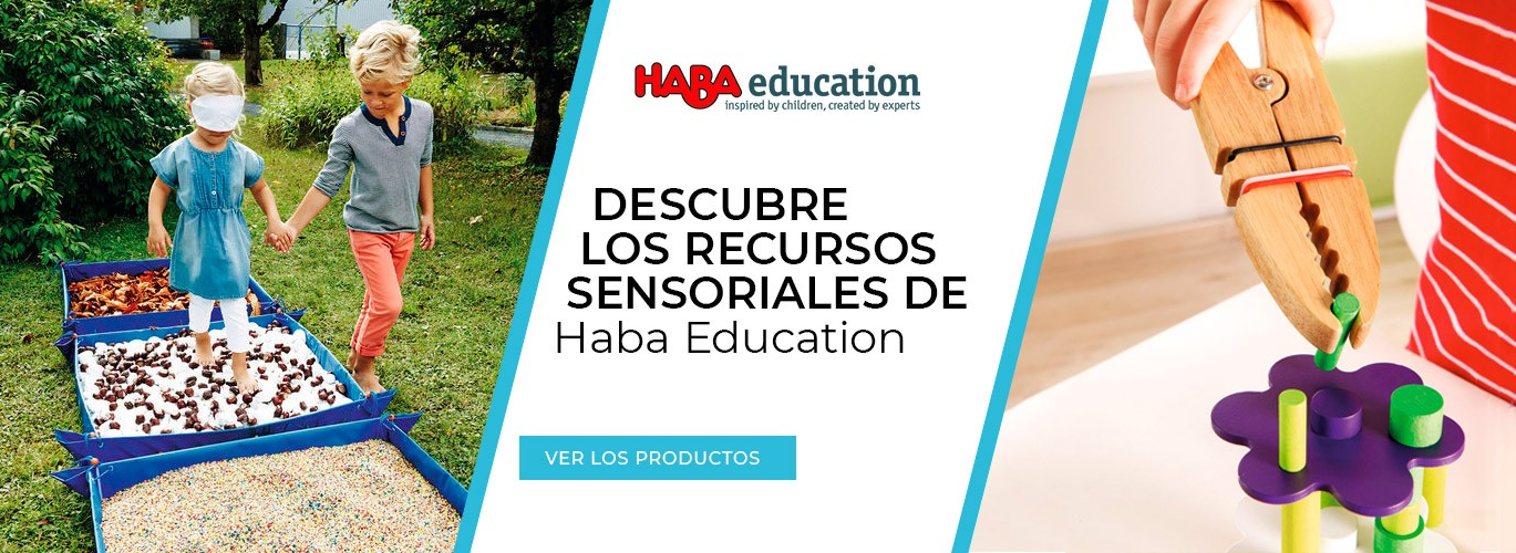 Recursos sensoriales Haba Education